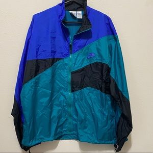 NWT Nike multicolor vintage windbreaker XL